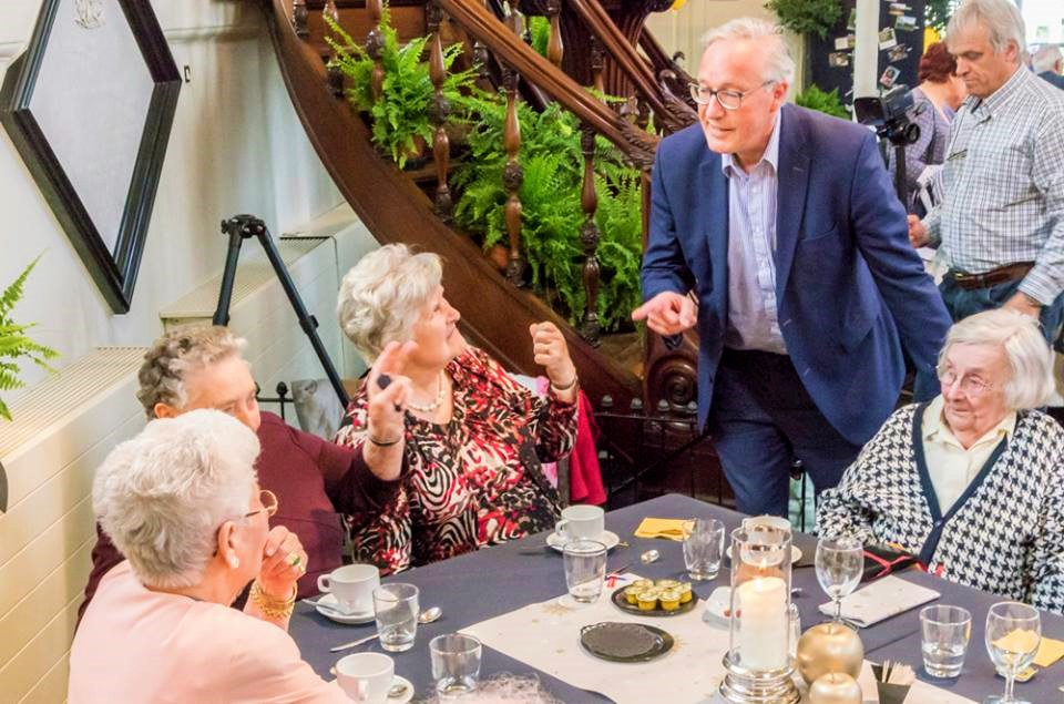 Rudy Coddens - Seniorenbeleid - Bezoek aan het Antoniushof