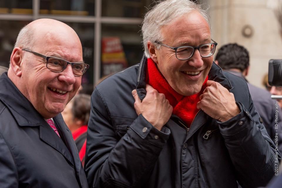 Rudy Coddens en Daniël Termont