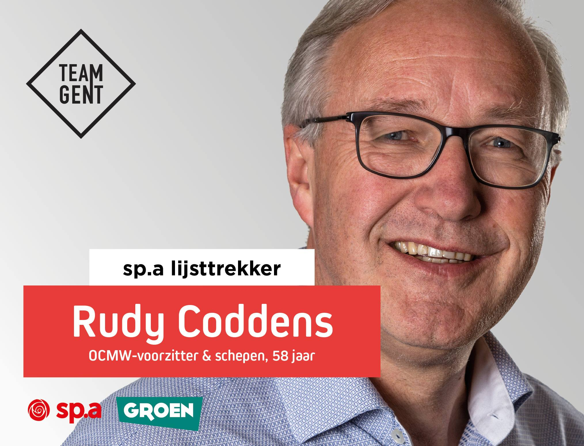 Wie is Rudy Coddens?